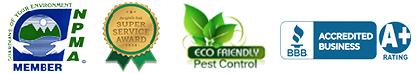 Houston Pest Control Badges Logos